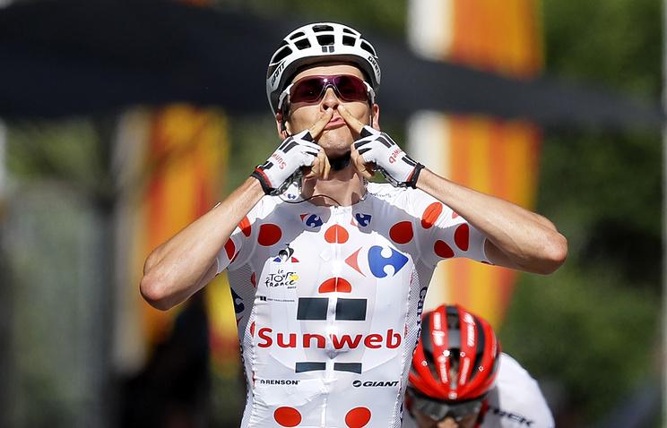 Мэттьюс одержал победу 14-й этап «Тур деФранс»