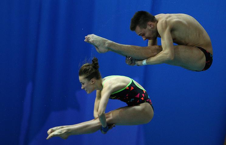 Виктор Минибаев и Юлия Тимошинина