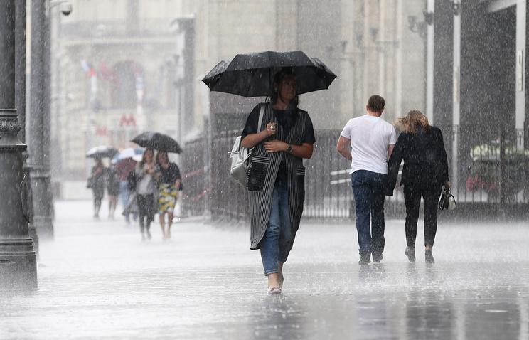 Дожди идо +26 градусов ожидаются в столицеРФ иобласти ввоскресенье