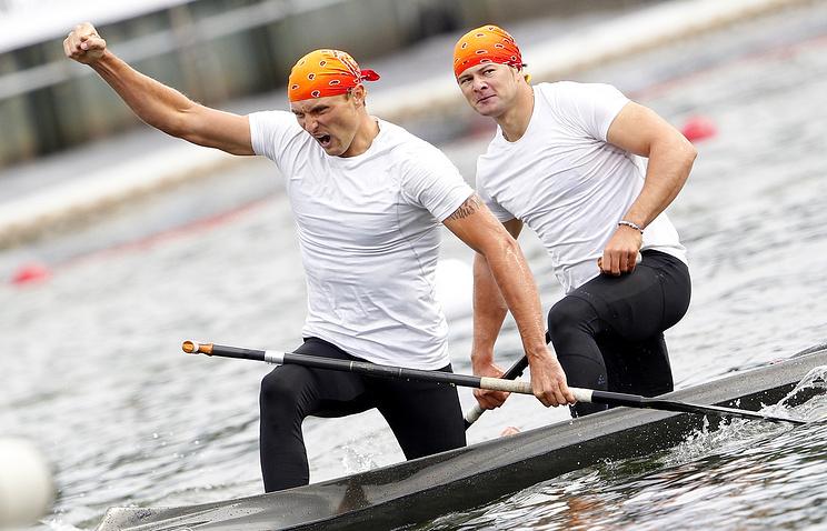 Иван Штыль и Виктор Мелантьев
