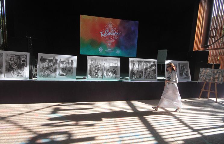 """Вторая смена форума """"Таврида"""" была посвящена изобразительным искусствам"""