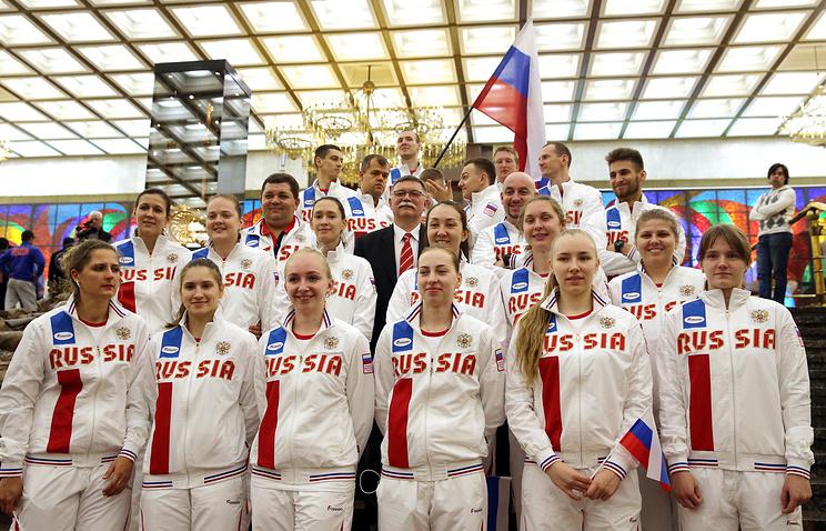 Российские спортсмены-сурдлимпийцы