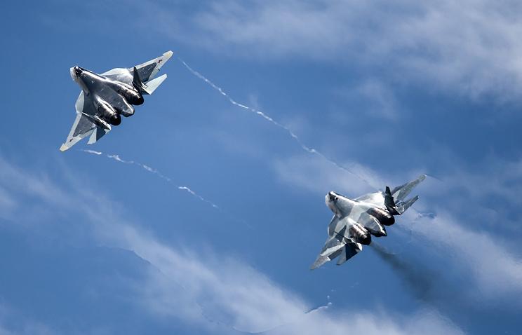Истребители пятого поколения ПАК ФА (Т-50)