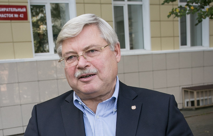 Врио главы Томской области Сергей Жвачкин
