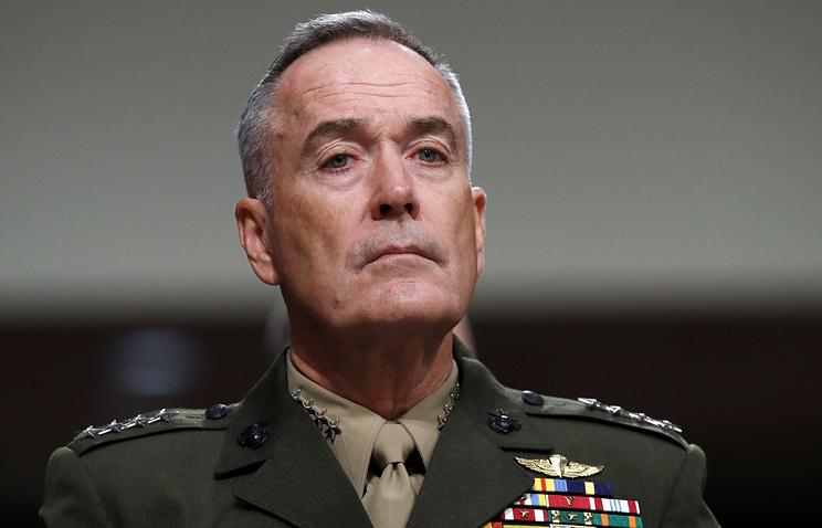 Председатель Комитета начальников штабов ВС США генерал Джозеф Данфорд
