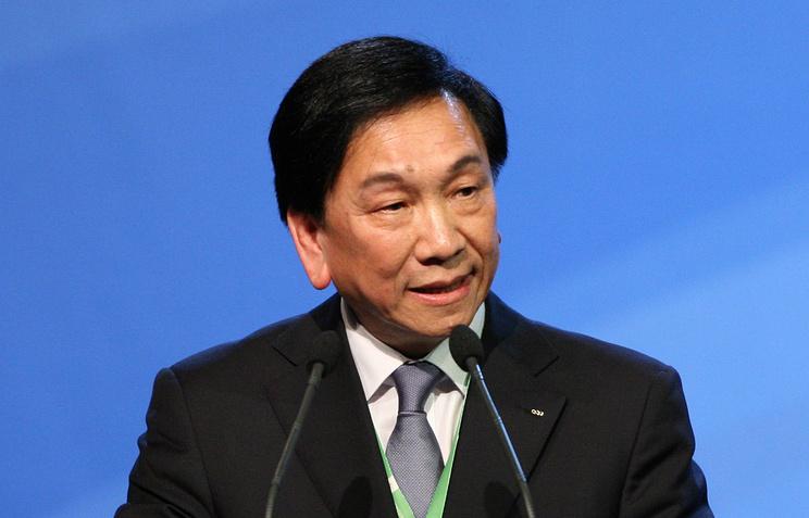 Президент Международной ассоциации бокса (AIBA) Чинг-Куо Ву