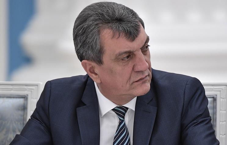 Полпред президента РФ в Сибирском федеральном округе Сергей Меняйло