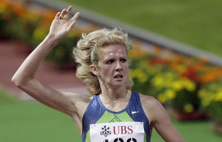 Отобранную уроссиянки Соболевой медаль вручили украинской легкоатлетке