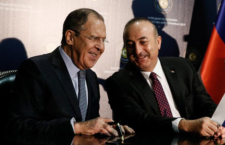Сергей Лавров и Мевлют Чавушоглу