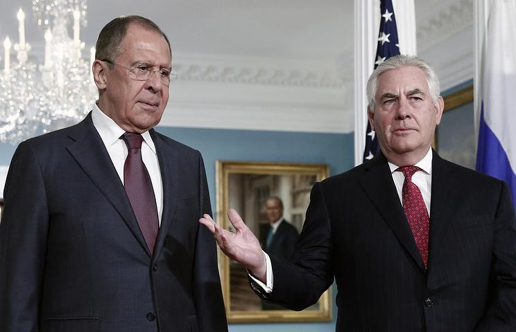 Руководитель МИД Российской Федерации игоссекретарь США тщательно обсудили корейский кризис