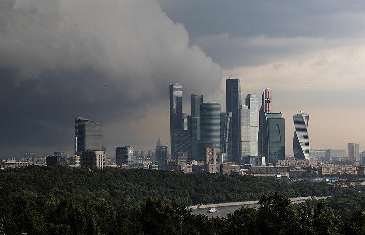 В российской столице на3августа объявлен «желтый» уровень опасности