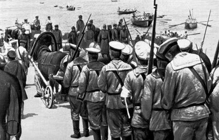 Оборона Севастополя (1911), реж. В. Гончаров и А. Ханжонков