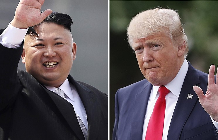 Трамп заявил, что его слова об отношениях с Ким Чен Ыном исказили
