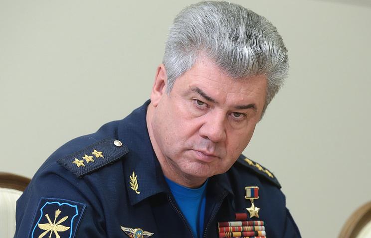 Главком ВКС РФ Виктор Бондарев