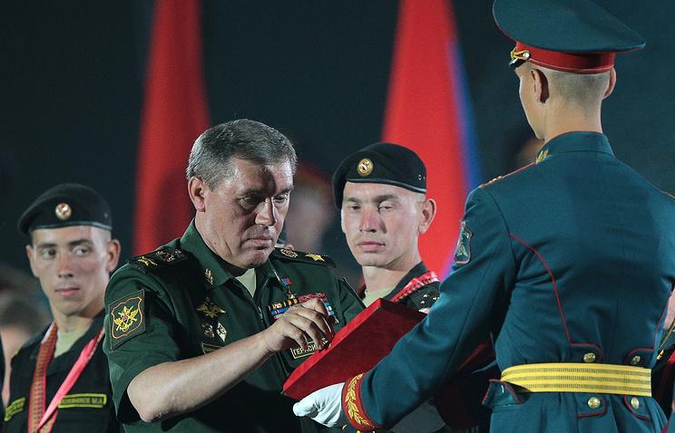 Начальник Генерального штаба ВС РФ генерал армии Валерий Герасимов