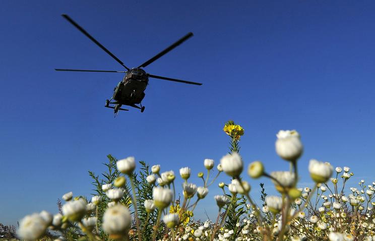 Под Иркутском строго приземлился вертолет Ми-8