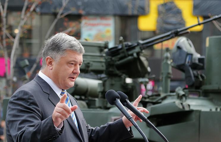 Украинские военные получат танки «Оплот» доконца года,— Порошенко