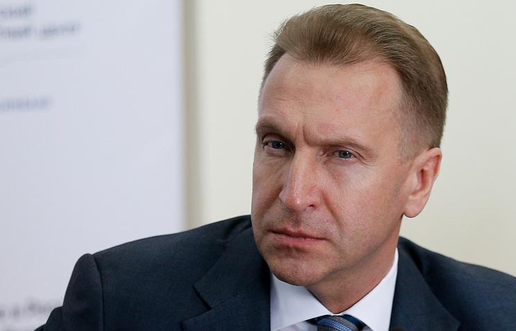Первый вице-премьер РФ Игорь Шувалов