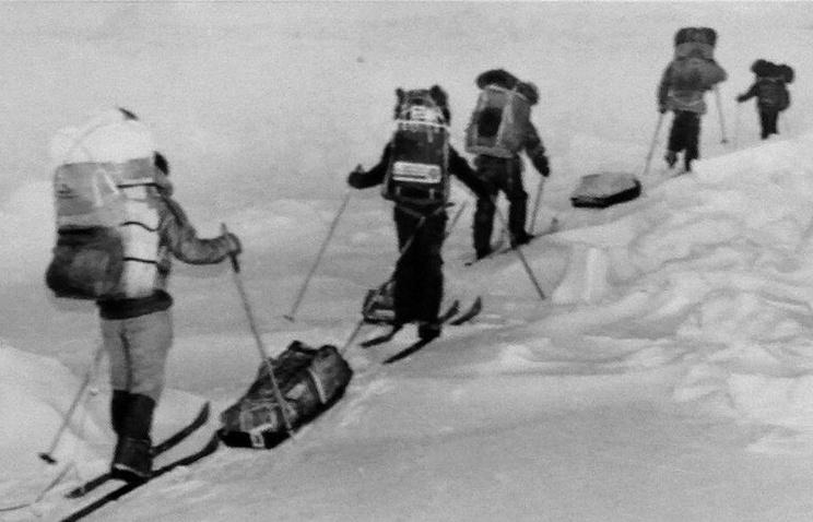 Группе Владимира Чукова пришлось провести пять суток без провизии и связи в географической точке Северного полюса