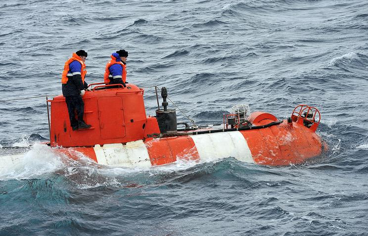 Спасательная подлодка Северного флота погрузилась нарекордную глубину