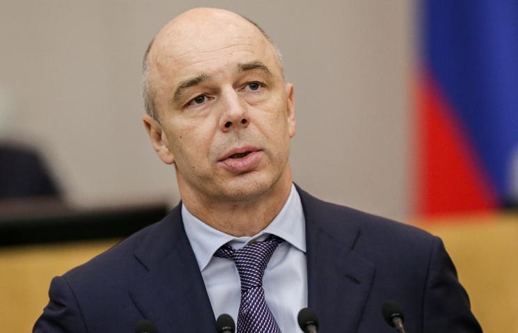 Силуанов: дефицит бюджета в 2017 году составит около 2% ВВП