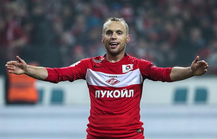 Глушаков согласился продлить договор со«Спартаком»