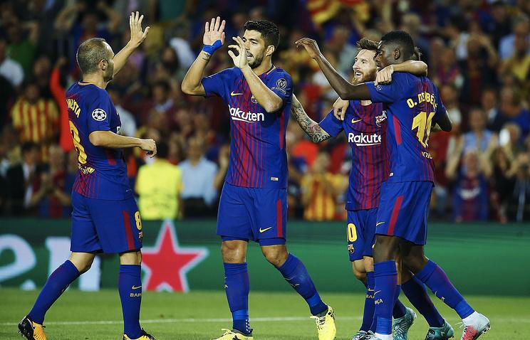 «Барселона» разгромила «Ювентус» вматче Лиги чемпионов