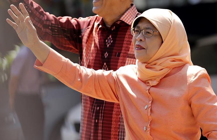 Президент Сингапура Халима Якоб