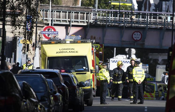 Бомба влондонском метро была начинена гвоздями