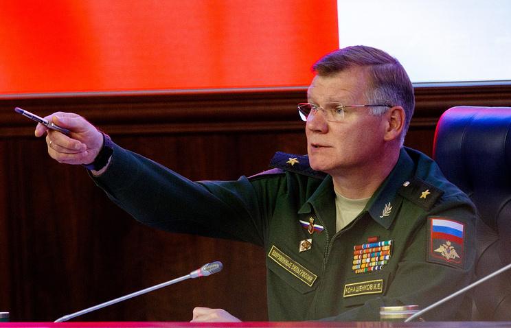 Минобороны поведало обосвобождении Акербата иборьбе сшахид-танками вСирии