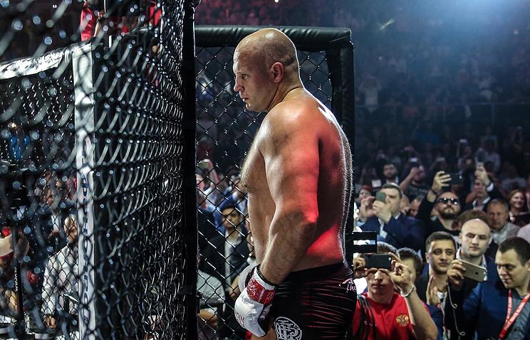 Фёдор Емельяненко узнает имя следующего конкурента 23сентября