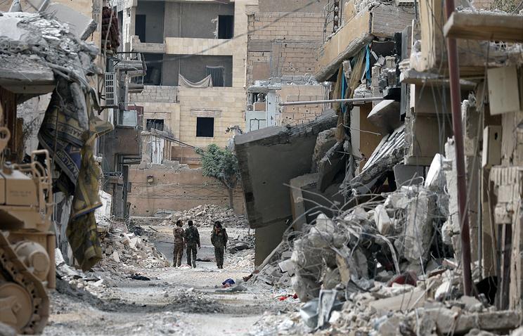 МинобороныРФ обвинило сирийскую оппозицию всбросе воды сплотин вЕвфрат