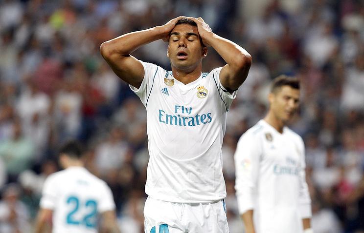 «Реал» проиграл «Бетису» вчемпионате Испании пофутболу