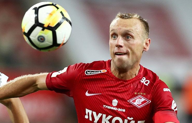 Денис Глушаков продлил договор со«Спартаком» еще натри года