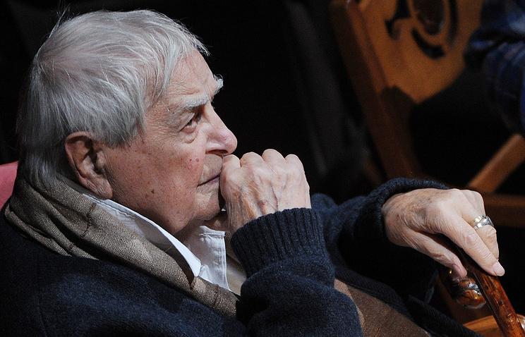 Новая театральная награда названа вчесть Юрия Любимова