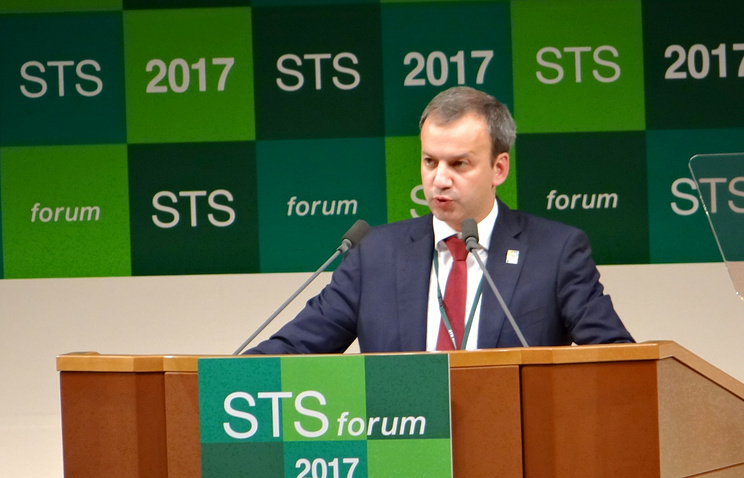 Дворкович иСиндзо Абэ обсудили российско-японские отношения в финансовой сфере