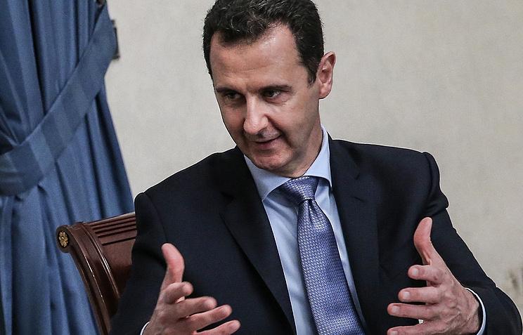 Асад встретился сделегацией русских предпринимателей вДамаске