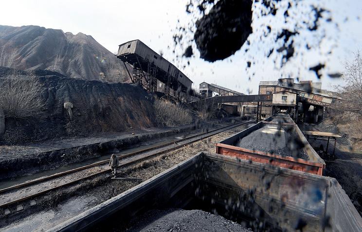 Неменее половины угля поступает на Украинское государство из РФ — Киев