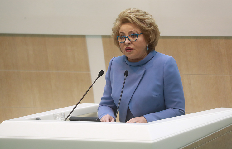 Матвиенко: Москва не признает решения ЕСПЧ, если главу ПАСЕ изберут без РФ