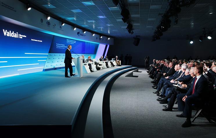 Путин вместе с профессионалами «Валдайского клуба» обсудит тему актуальных насегодняшний день мировых конфликтов