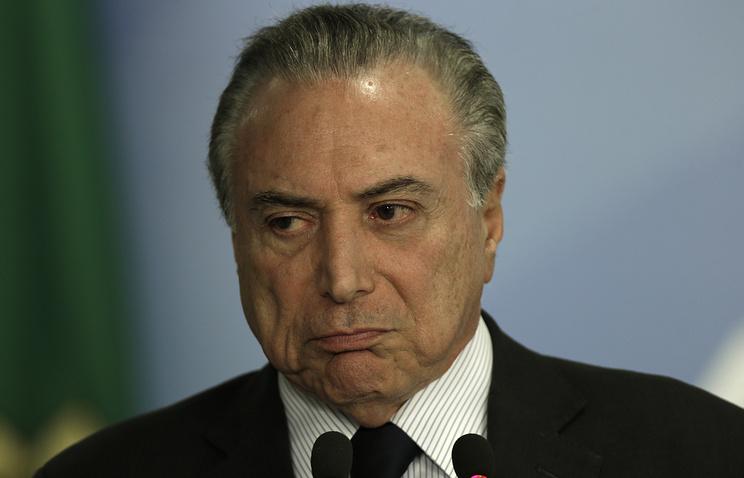 Комиссия парламента Бразилии отдала голос против предъявления президенту обвинений вкоррупции