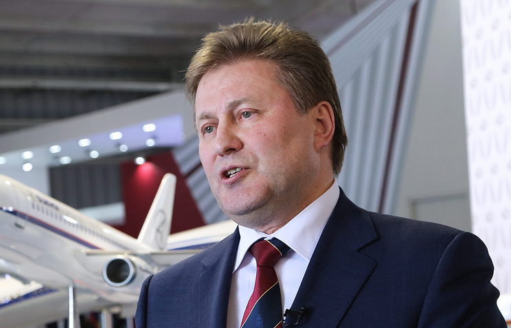 Вице-президент по инновациям ОАК Сергей Коротков