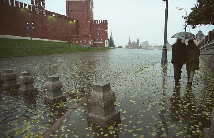 Дождь ипорывы ветра до18 м/с ожидают жителей столицы 30октября