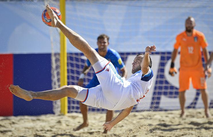 Сборная Российской Федерации обыграла команду Ирана наМежконтинентальном кубке