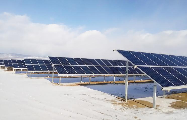 ВБурятии запущена первая солнечная электростанция