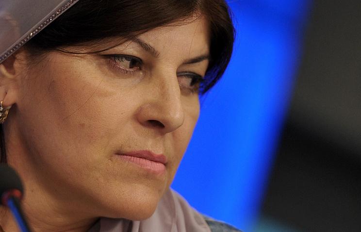 Член совета по правам человека Чечни Хеда Саратова