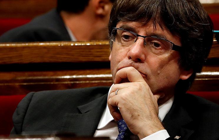Пучдемон поведал, как решилась участь Каталонии