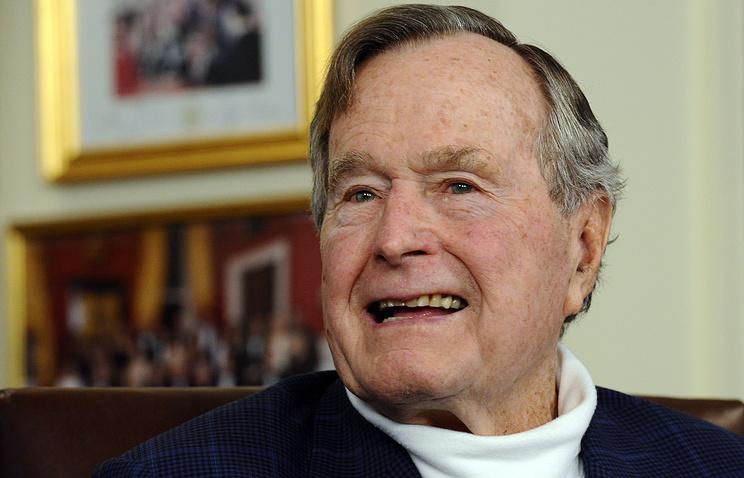Буша-старшего обвинили вдомогательствах напосту президента США