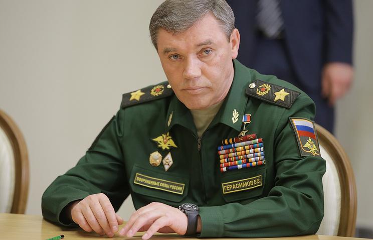 Глава Генштаба ВС РФ Валерий Герасимов