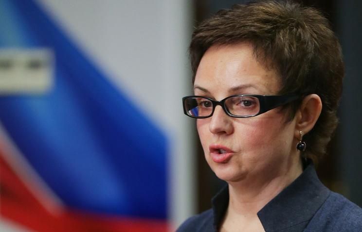 Глава комитета по регламенту и организации работы Госдумы РФ Ольга Савастьянова